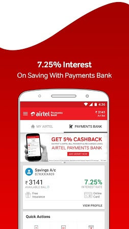 My Airtel-Online Recharge, Pay Bill, Wallet, UPI APK latest version