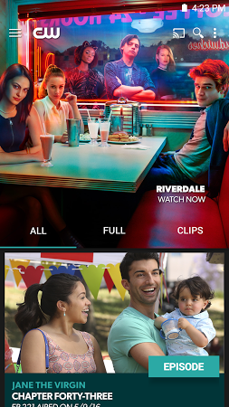 The CW APK latest version - free download for Android