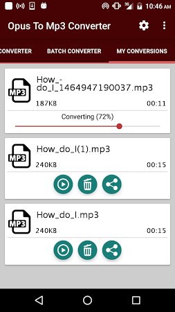 Opus To Mp3 Converter APK latest version - free download for