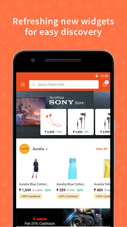 Paytm Mall APK latest version - free download for Android