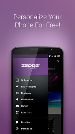 zedge wallpaper and ringtones app