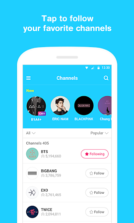 V – Live Broadcasting App APK latest version - free download for Android