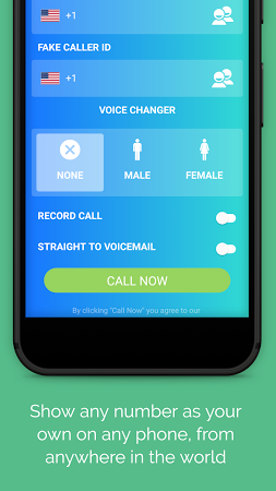 free fake caller id and voice changer