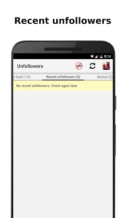 Unfollowers for Instagram APK latest version - free download for Android