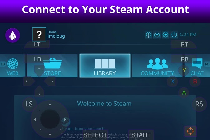 LiquidSky PC Cloud Gaming APK latest version - free download for Android