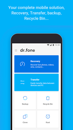 dr.fone - recovery & transfer wirelessly & backup apk