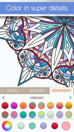 Apk Screenshot 2 Adult Coloring Book Premium App 3