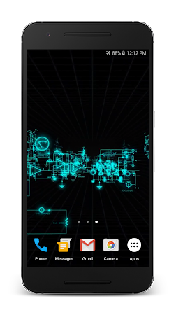 Electric Matrix Live Wallpaper Apk Latest Version Free