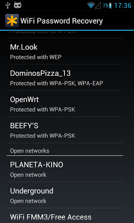 WiFi Passwords Recovery Pro APK latest version - free