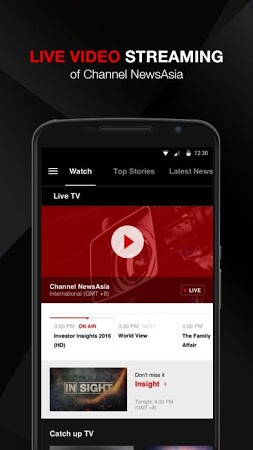 Channel NewsAsia APK latest version - free download for Android