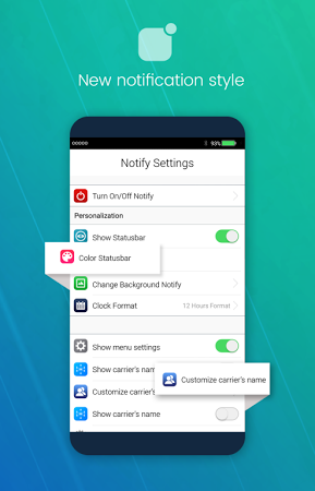 iNoty - iNotify OS 10 APK latest version - free download for Android