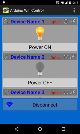 Arduino WiFi Control (ESP8266) APK latest version - free download