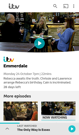 ITV Hub APK latest version - free download for Android