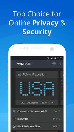VPN - Fast, Secure & Unlimited WiFi with VyprVPN APK latest