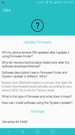 Firmware Finder for Huawei APK latest version - free download for