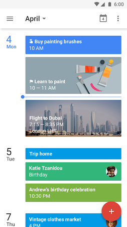 Google Calendar APK latest version - free download for Android