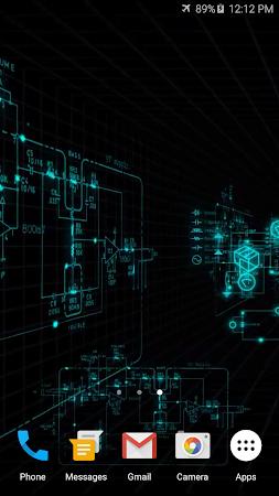 Electric Matrix Live Wallpaper Screenshots