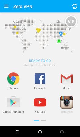 Zero VPN APK latest version - free download for Android